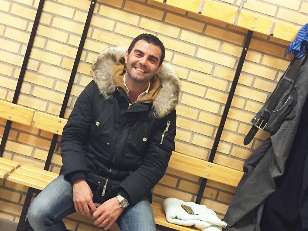 Meysam Javan, sportchef i Prespa Birlik, påpekar att han hela tiden varit överrtygad om att klubben skulle bli friad från anklagelserna. Foto: Ole Törner