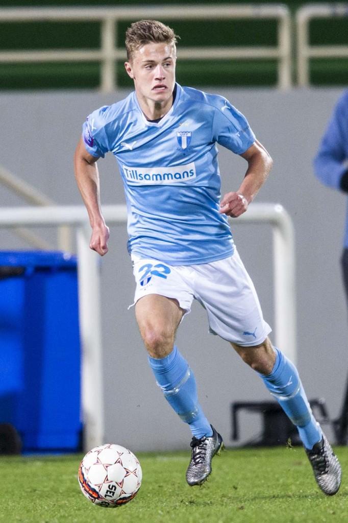 Mattias Svanberg - snart en vanlig syn i A-laget. Foto: Bildbyrån