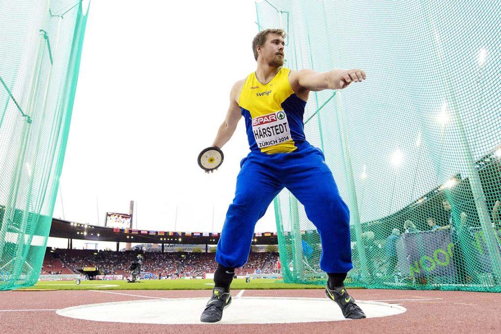 Axel Härstedt, MAI, har haft en fantastisk vår och siktar mot OS. Foto: Bildbyrån