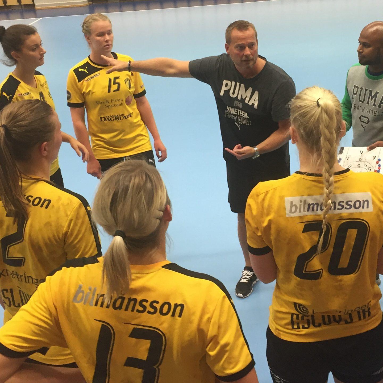 Photo of Tunga tapp för nysatsande Team Eslöv