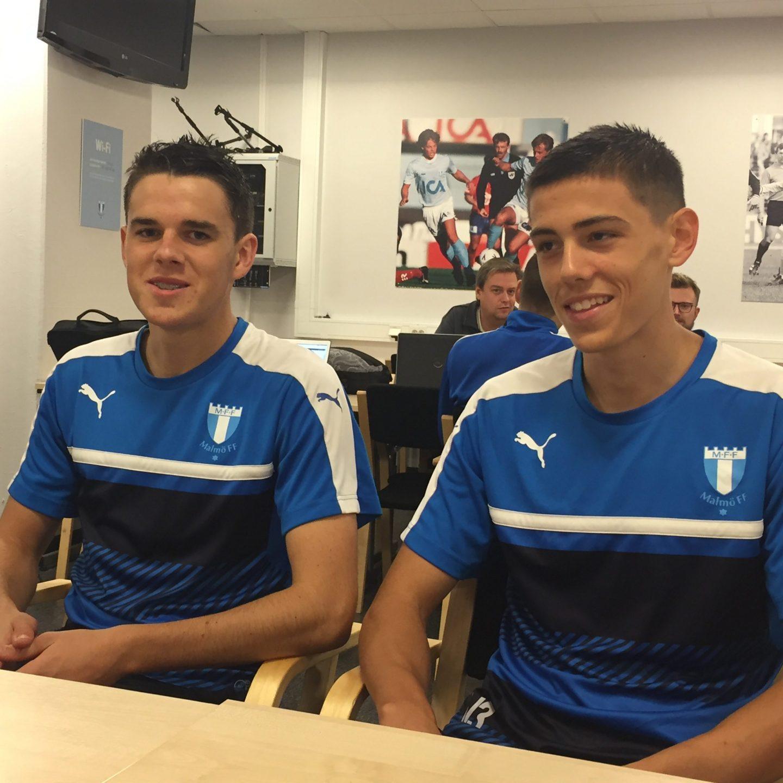 Photo of U19-spelarna beredda i MFF