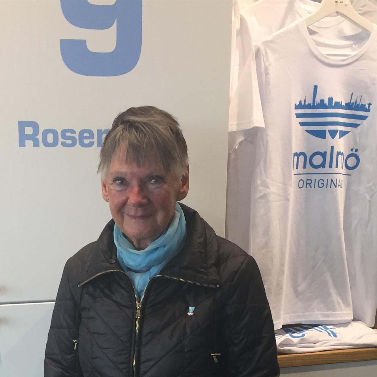 Photo of MFF-frälsta Jenny, 78, lämnar inte ståplats