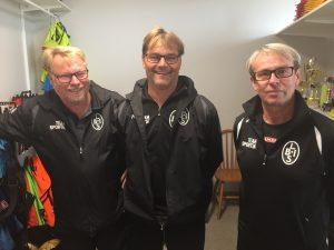 Benny Berggren, Janne Johnsson och Alojz Lukic leder stora delar av den dagliga verksamheten.