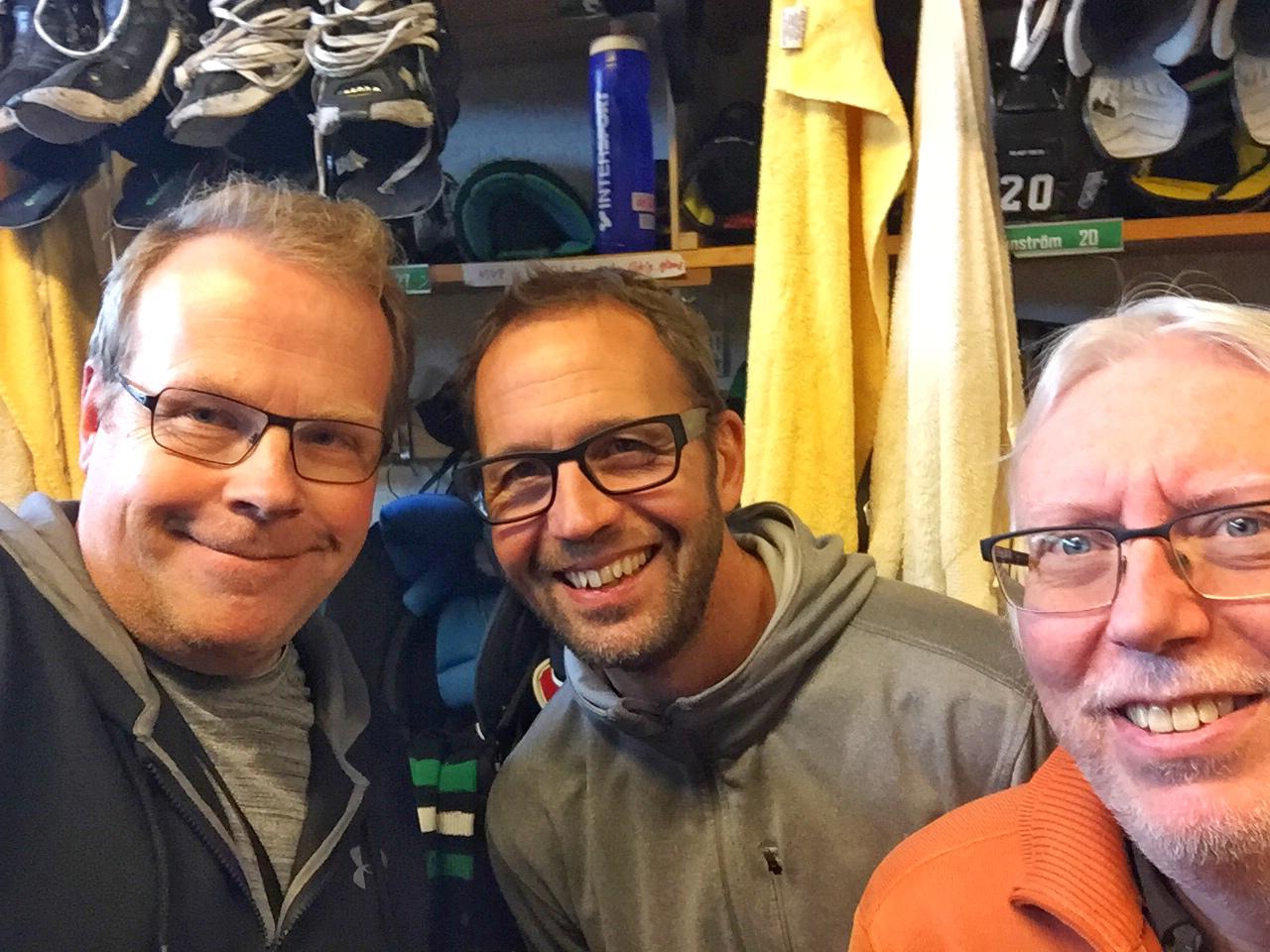 "Photo of Hockeypodden ""Frysboxen"", möt Roger Hansson."