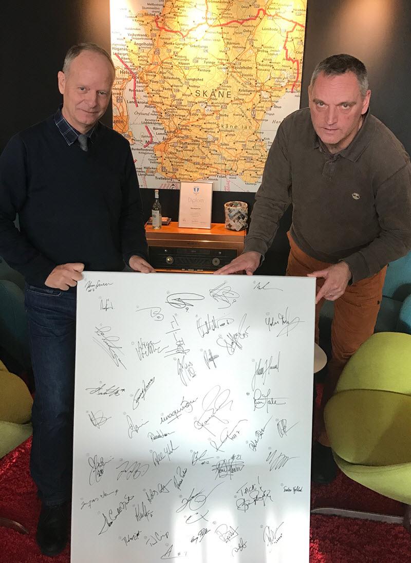 Photo of Blått snack 15 Nov, möt Anders Palmér och Roland Larsson
