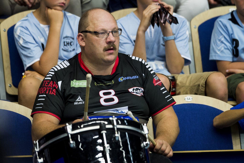 Photo of Rasmusson trummar på