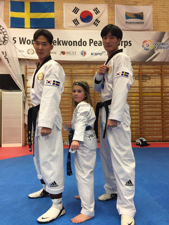 Photo of Sydkoreaner lyfter skånsk Taekwondo
