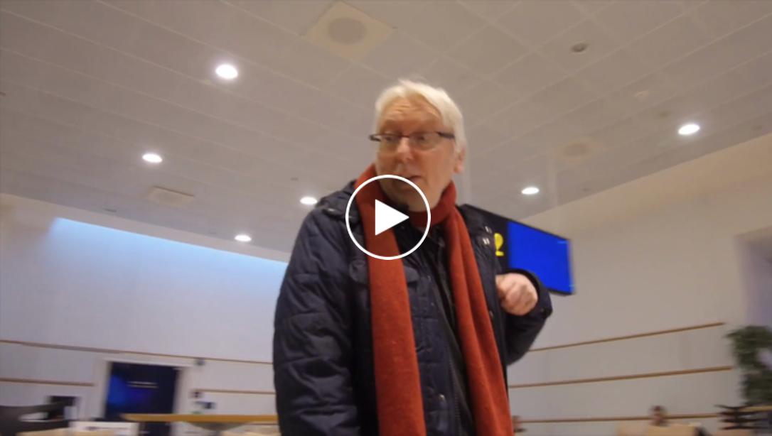 Photo of TV: Ole Törner testar korv på Köpenhamns flygplats