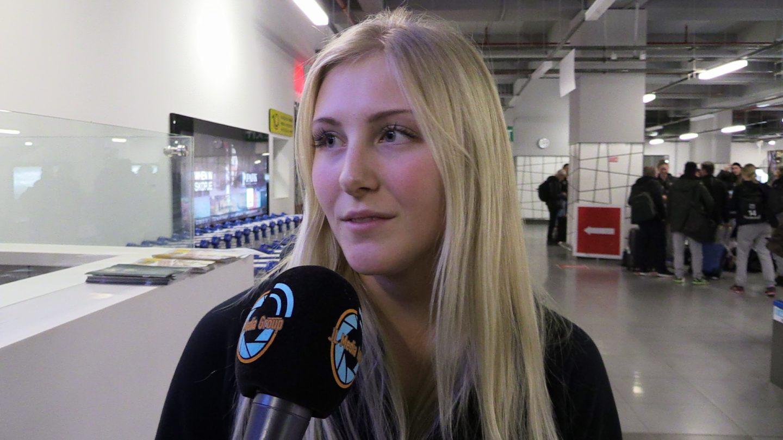 Photo of TV: Ida Gullberg efter flygresan till Skopje