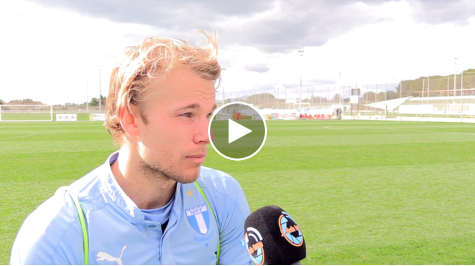 Photo of TV: Oscar Lewicki efter Malmö FF – Östersunds FK