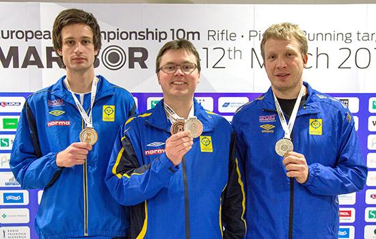 Photo of EM-medaljer till Osbyprofil