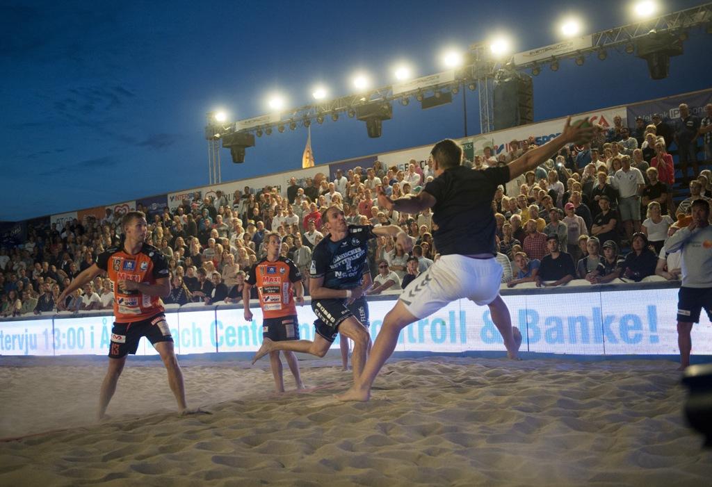 åhus beachhandboll 2017