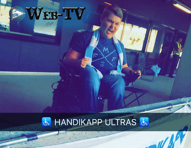 Photo of Web-TV: Möt Handikapp Ultras grundare – Albin Håkansson
