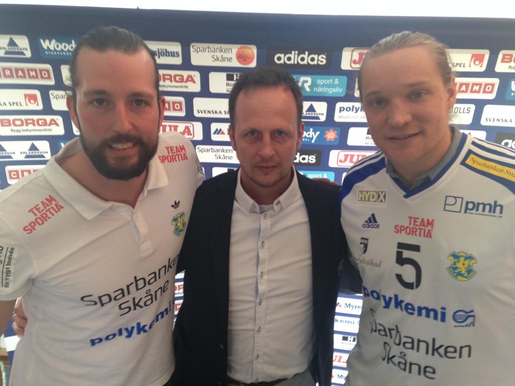 Photo of Carlén tillbaka i YIF – assisterande tillsammans med Lindén