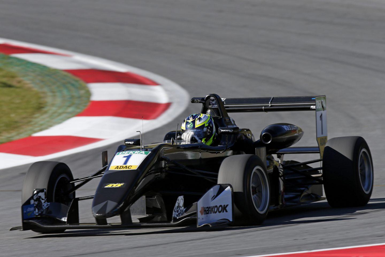 Photo of Joel Eriksson fjärde snabbast i Formel 3-testet