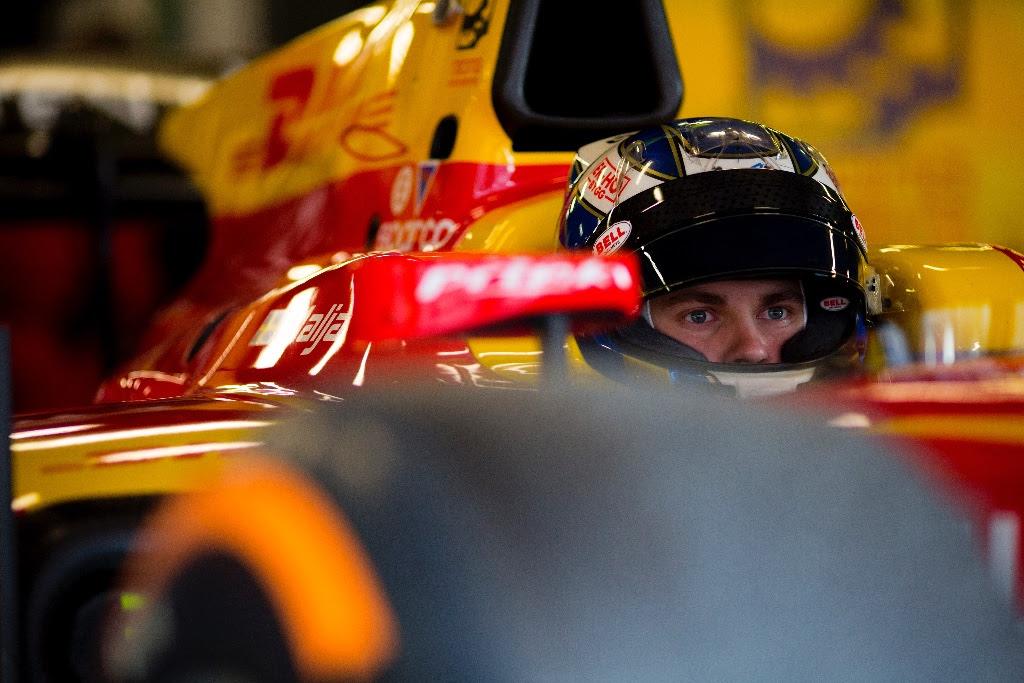 Photo of Formel 2-säsongen igång för Gustav Malja