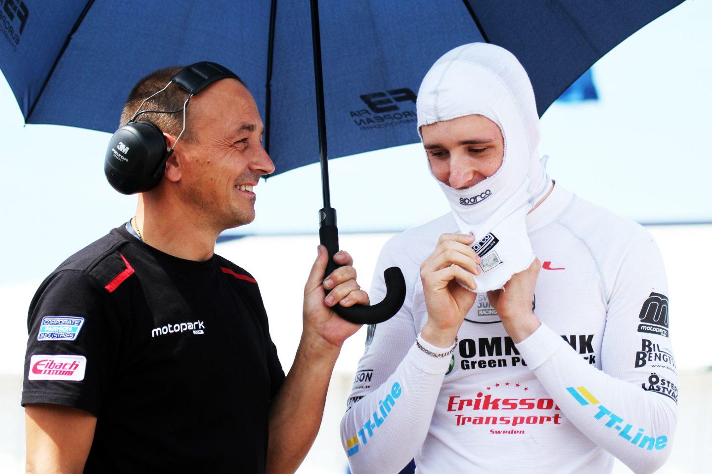 Photo of Joel Eriksson redo för premiären i Formel 3-EM