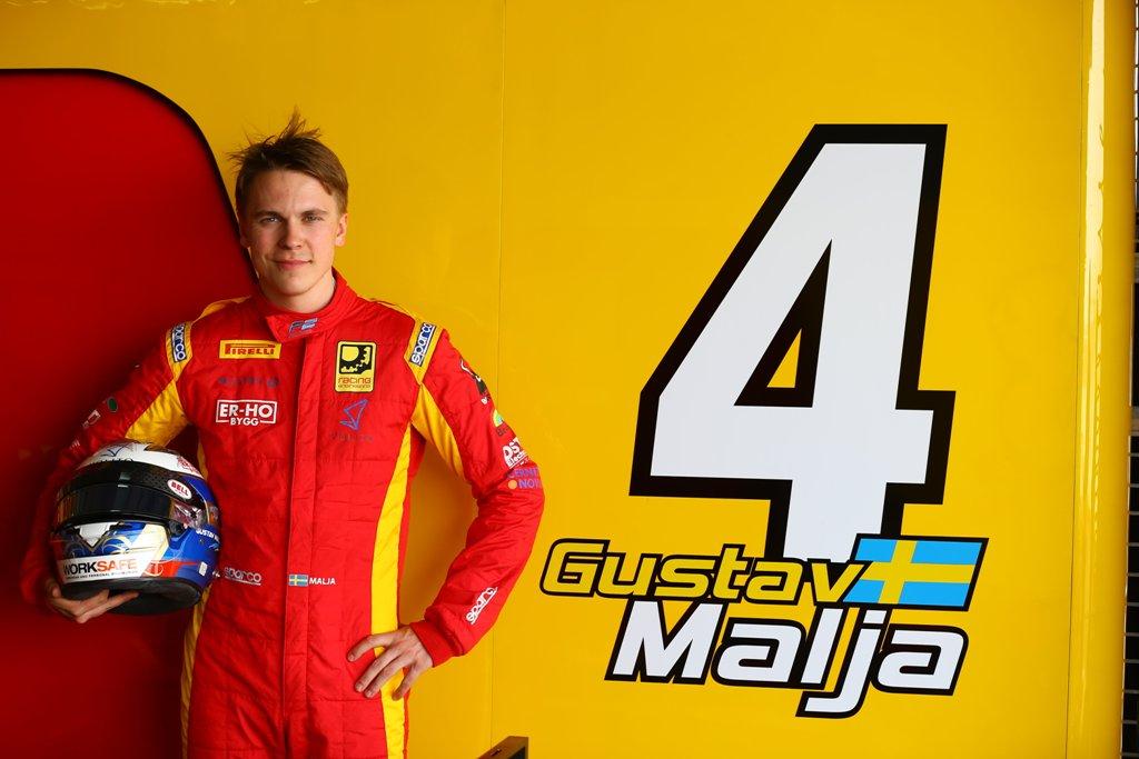 Photo of Gustav Malja kör igång säsongen i Bahrain