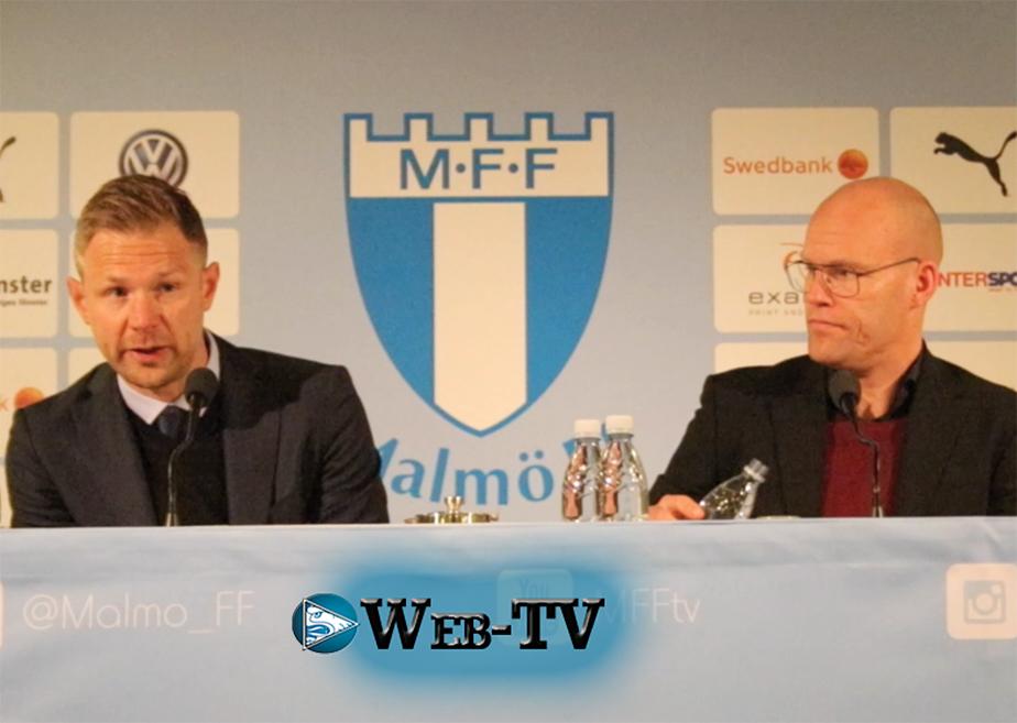 Photo of Web-TV: Presskonferensen efter Malmö FF – GIF Sundsvall