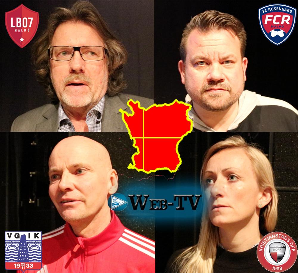 Photo of Web-TV: Damallsvenskan – De skånska klubbarnas tränare säger sitt.