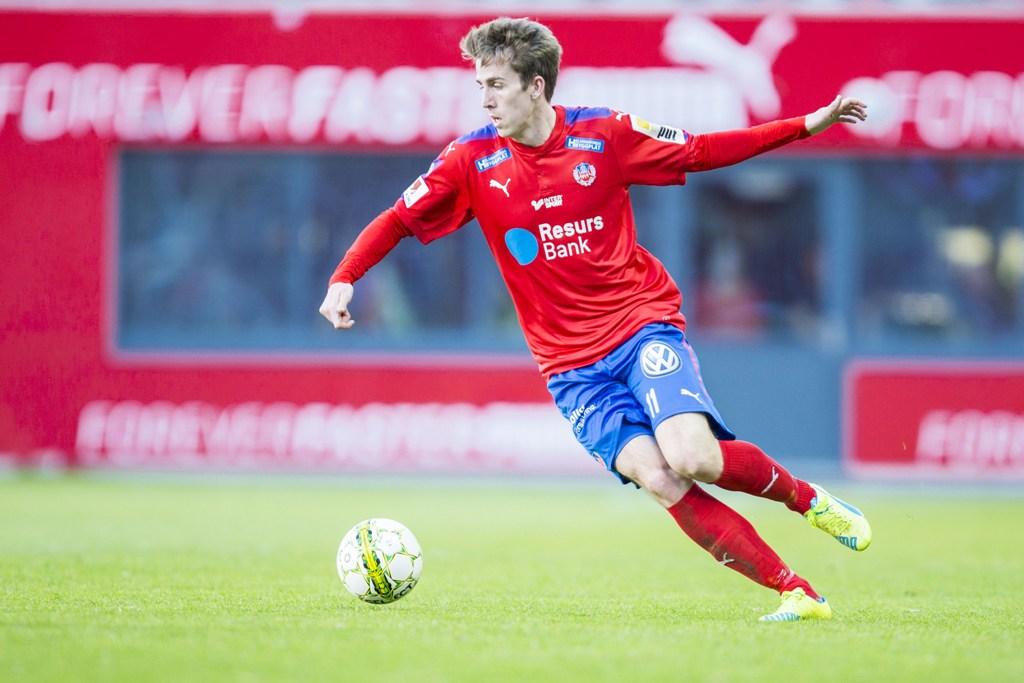 Photo of HIF´s Adam Eriksson tror på ett Helsingborg i Allsvenskan 2018