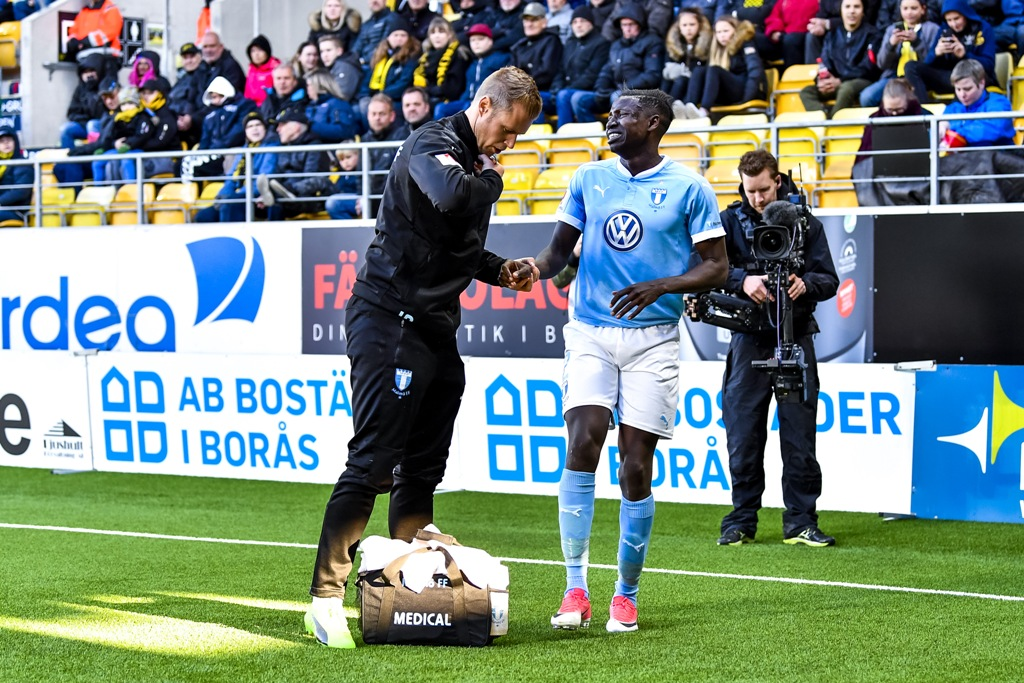 Photo of Pa Konate missar resten av vårsäsongen