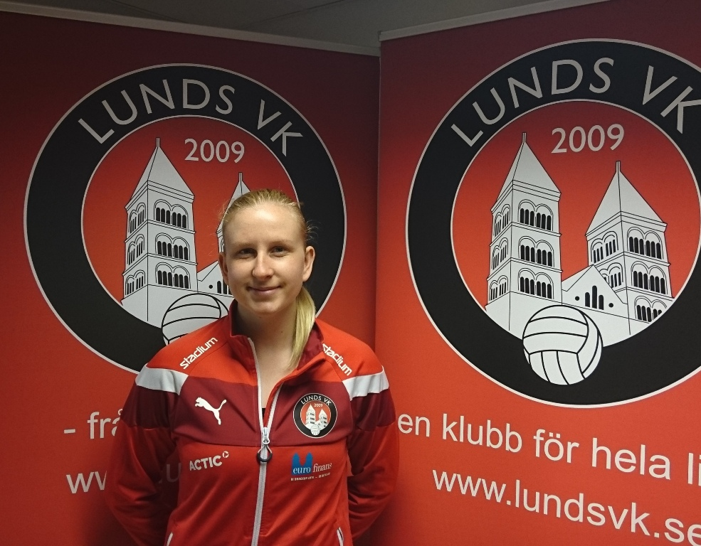 Photo of Passaren Evelina Brink förlänger med Lunds VK