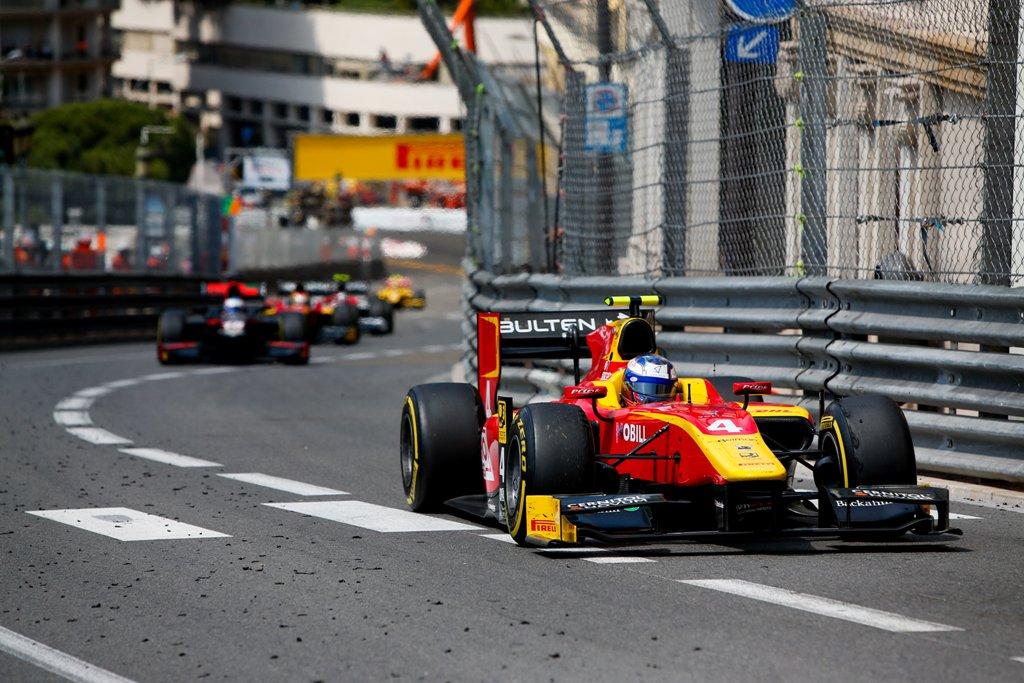 Photo of Malja från Malmö trea i Monacos Formel 2