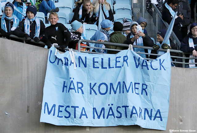 Photo of Norra Blå – Supporterframtidens läktare