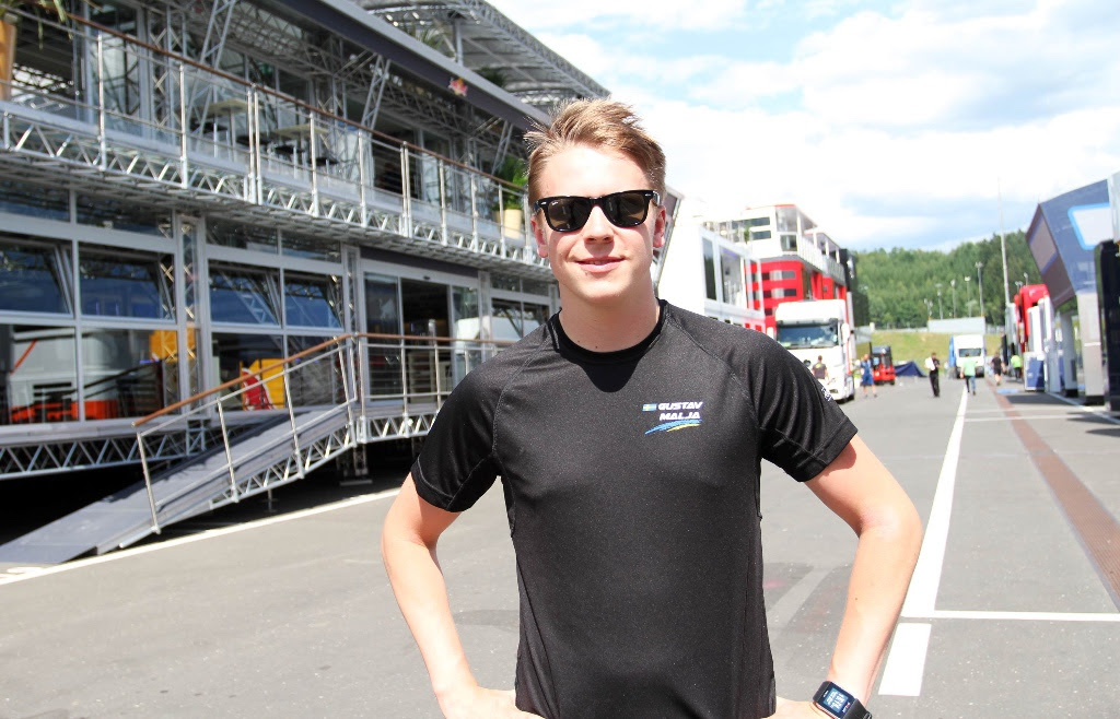 Photo of Gustav Malja får ett officiellt Formel 1-test