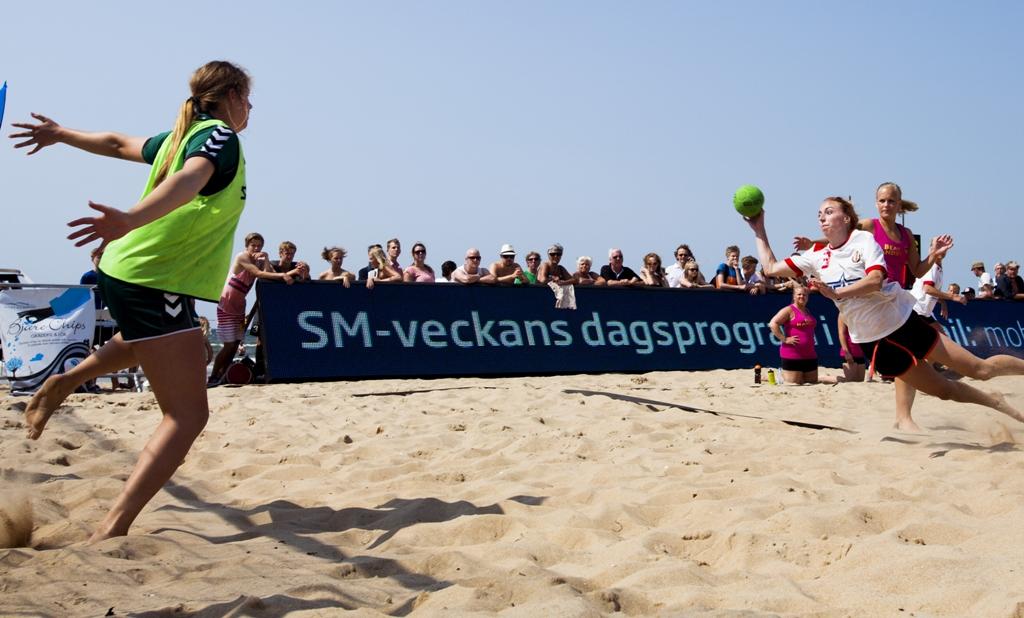 Photo of Skånsk dominans när SM i beachhandboll ska avgöras