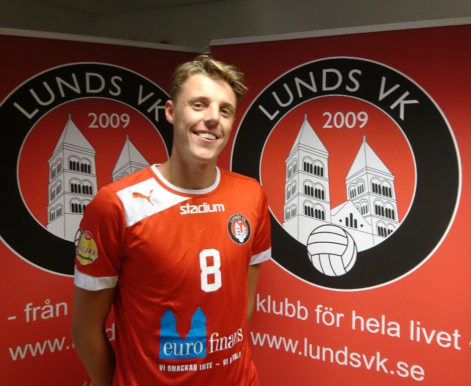 Photo of Lunds VK skriver kontrakt med talang