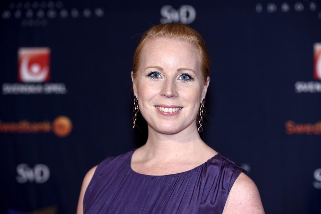 Photo of Annie Lööf till #medimatchen