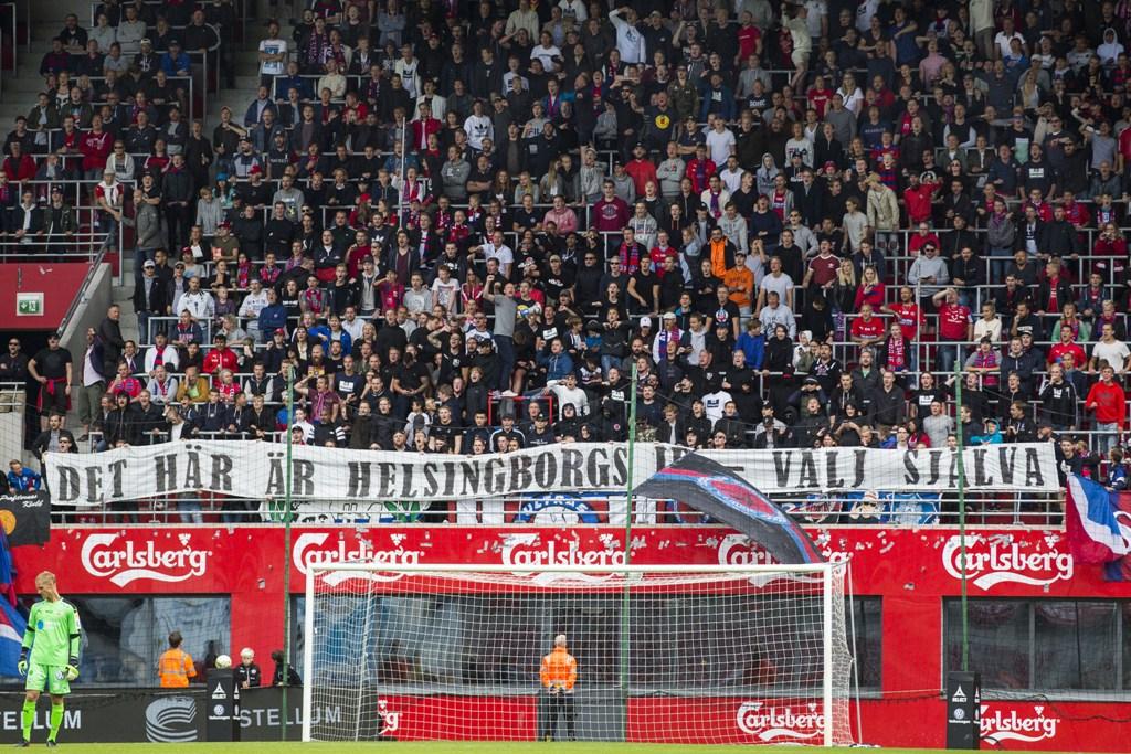 Photo of HIF:s supportergrupp kritisk till polisen