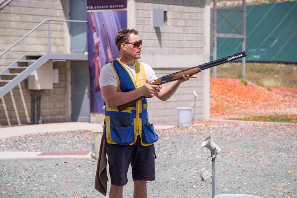Photo of Stefan Nilsson från Trelleborg på plats i Moskva för VM