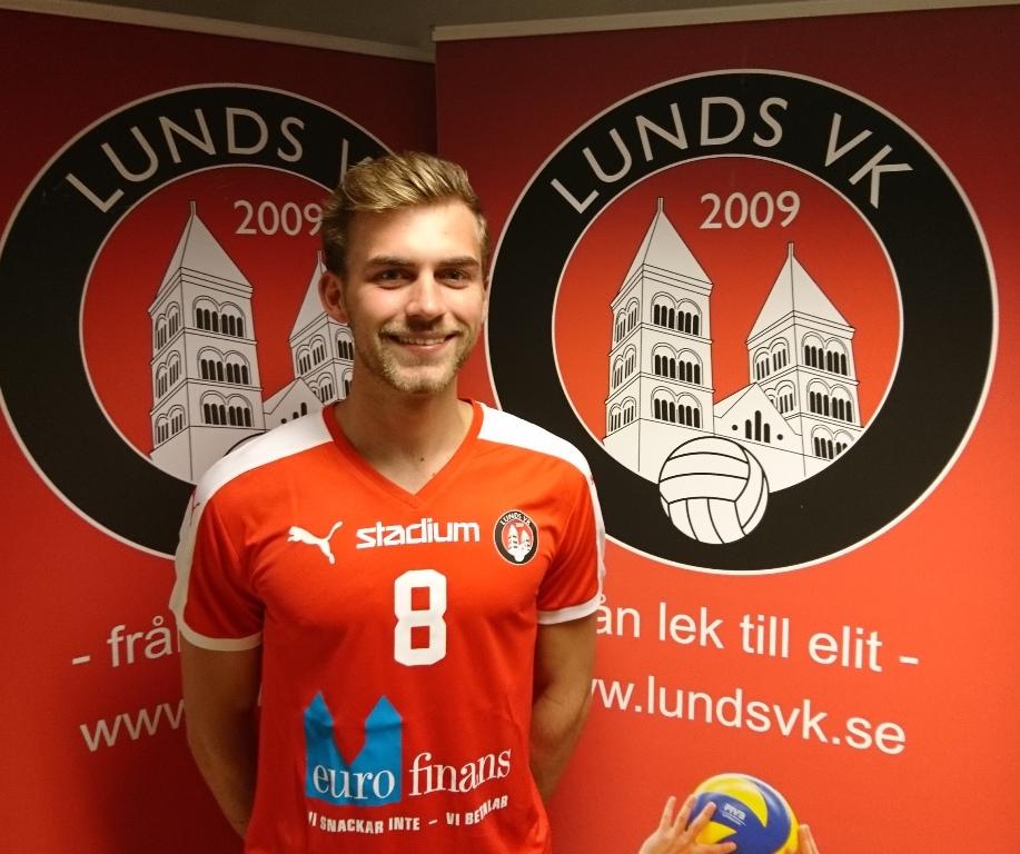 Photo of Lunds VK förlänger med Pontus Nilsson