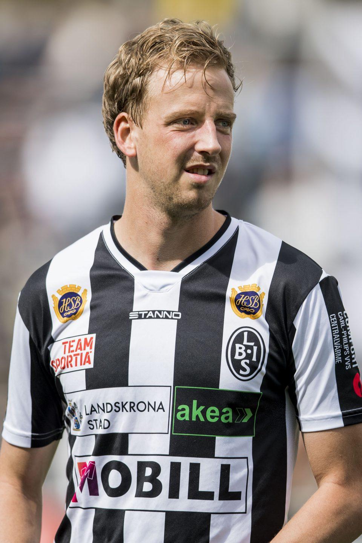 """Photo of Viktor Svensson: """"Vill ta BoIS till Allsvenskan"""""""