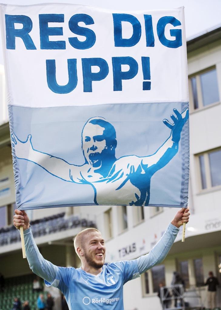 Photo of På söndag tar Anton Tinnerholm farväl av MFF-publiken