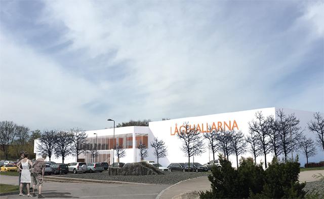 Photo of Lågehallarna blir större än först planerat