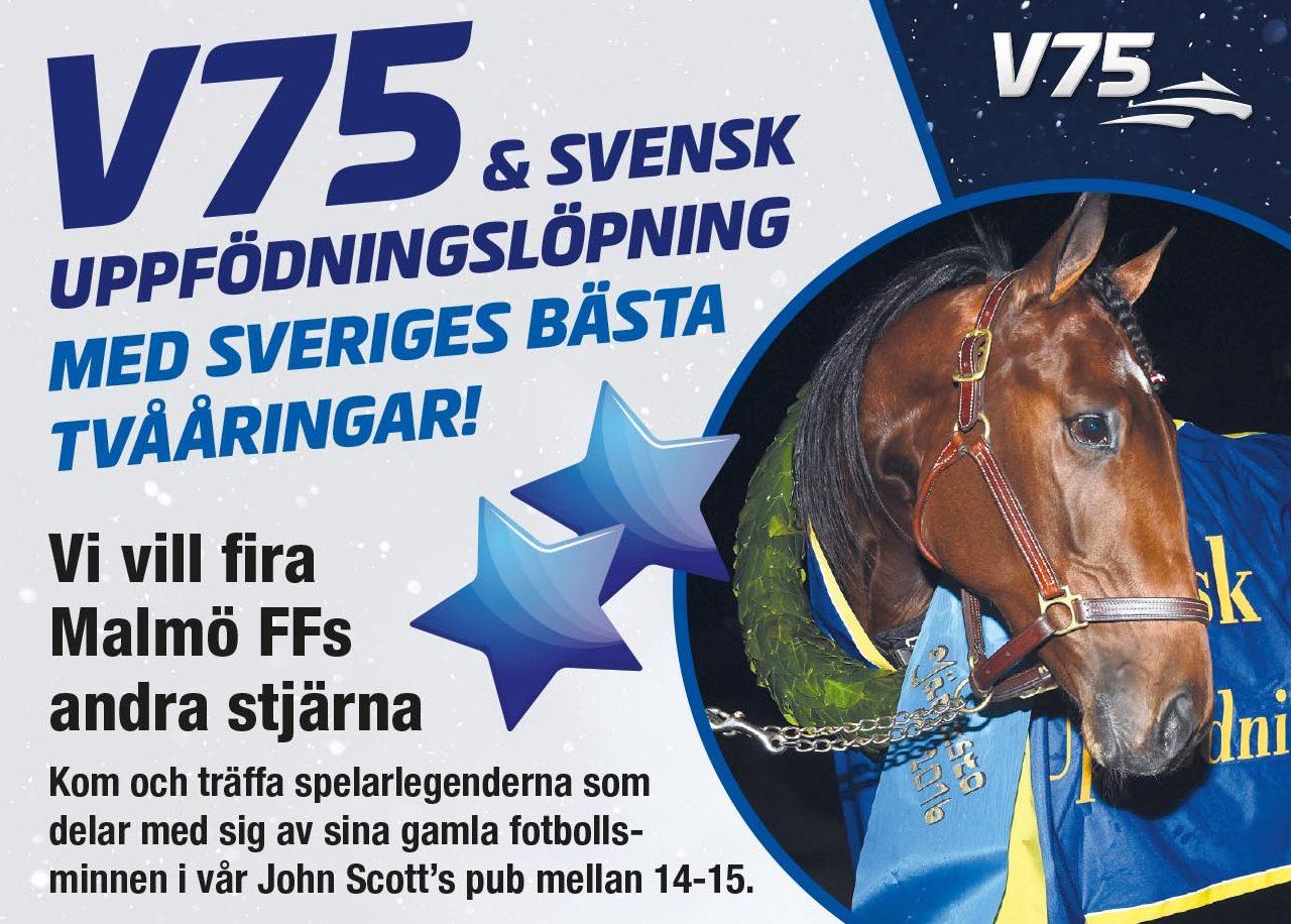 Photo of Flera MFF-profiler gästar Jägersros V75-lördag