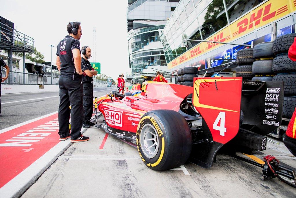 Photo of Formel 2-final för Gustav Malja