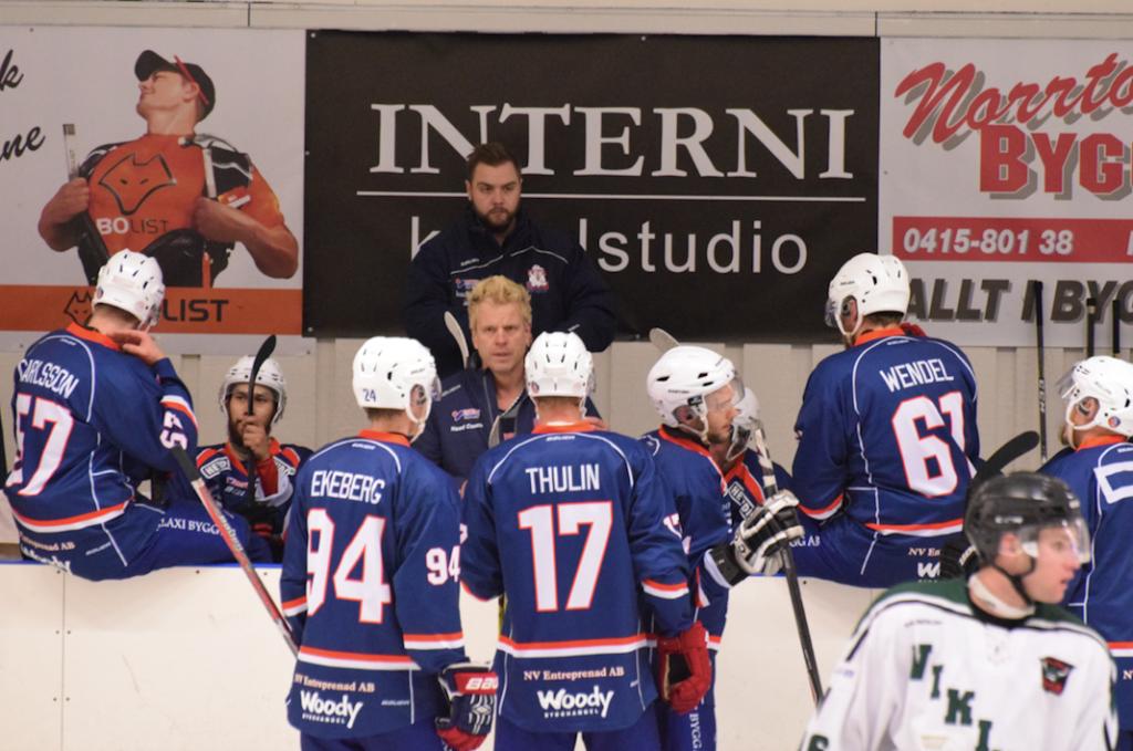 Photo of Sval inledning på säsongen för Frosta HC