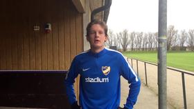 """Photo of TV: Jesper Bengtsson: """"Jag är en teknisk och snabb spelare"""""""