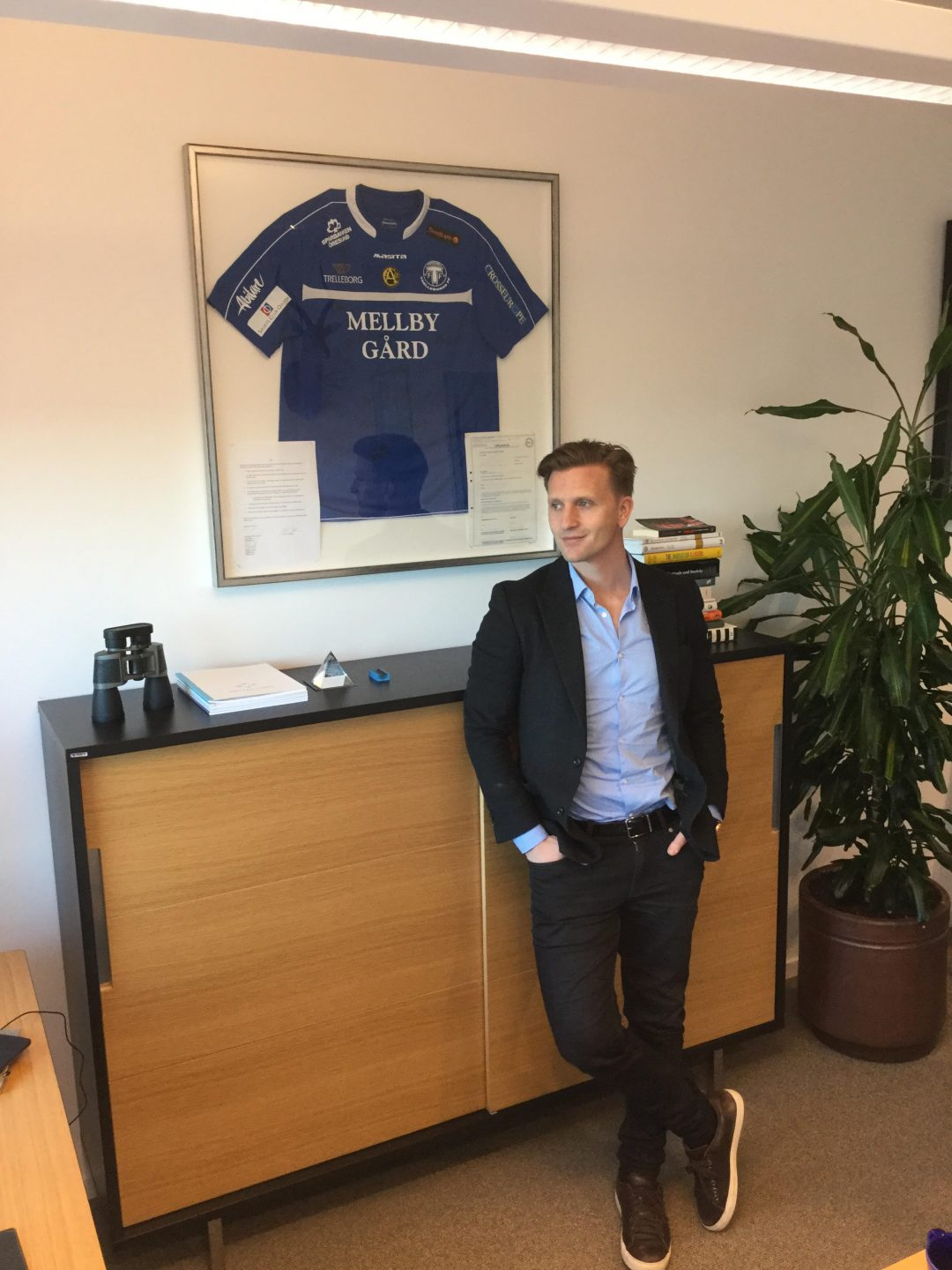 Photo of Mellby Gårds Johan Andersson om TFF:s framtid