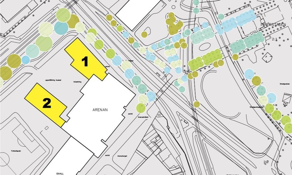 Photo of Arenan i Lund får två extra hallar