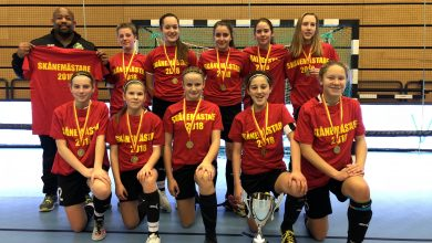 Photo of Glumslövs FF segrare i Futsal DM för flickor 15