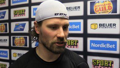 """Photo of TV: Stefan Warg: """"Man har gått och väntat på första SHL-målet"""""""