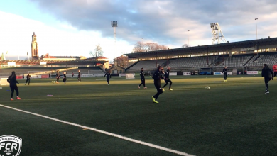 Photo of TV: FC Rosengårds första träning