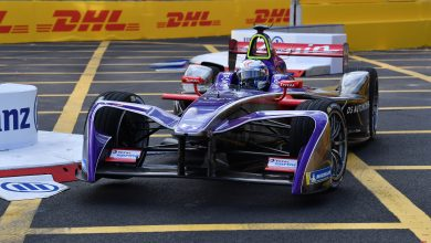 Photo of Joel Eriksson i Formel E-test för Virgin Racing