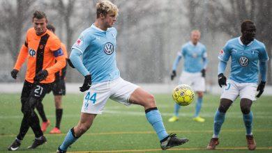 Photo of 17-årige Noel Hansson nätade i A-lagsdebuten för MFF